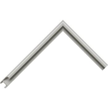 Алюминиевый багет серый 85-104
