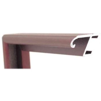 Алюминиевый багет бронза 85-309