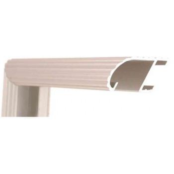 Алюминиевый багет белый 88-23