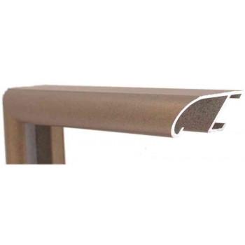 Алюминиевый багет готическое золото металлик 89-310