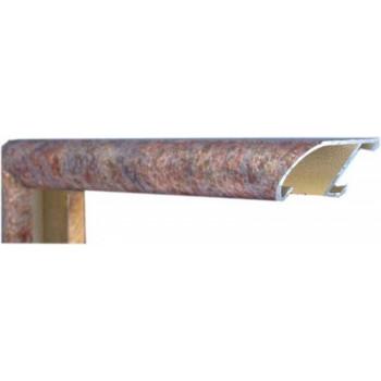 Алюминиевый багет природный камень М3-508