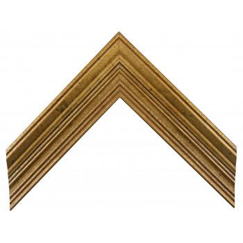 Деревянный багет Золото А-В110454