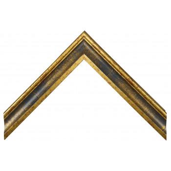 Деревянный багет Синий 068.44.050