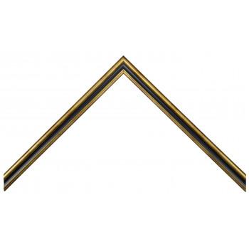 Деревянный багет Черный 115.21.045