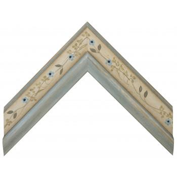 Деревянный багет Голубой 11663340