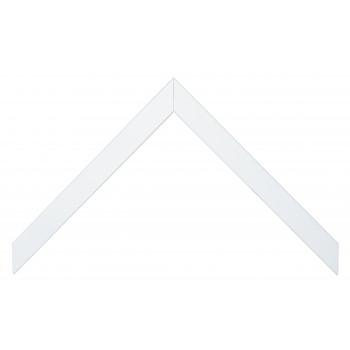 Деревянный багет Белый 135.83.009