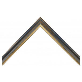 Деревянный багет Синий 13723050
