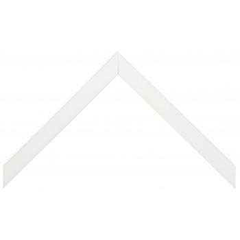Деревянный багет Белый глянцевый 148.41.009