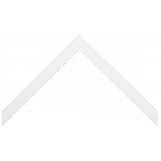 Деревянный багет Белый глянцевый 148.41.009 в интернет-магазине ROSESTAR фото