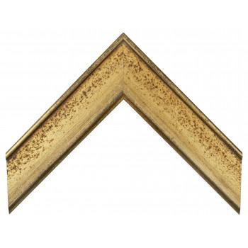 Деревянный багет Золото 15453043
