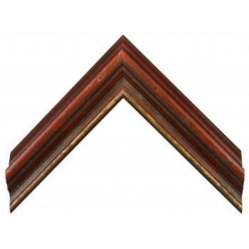 Деревянный багет Красный 18563335