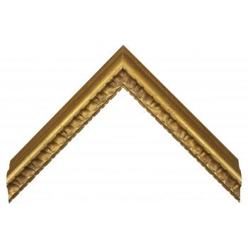 Пластиковый багет Золото 259-1004