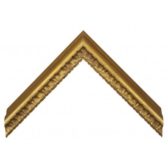 Пластиковый багет Золото 259-1004 в интернет-магазине ROSESTAR фото