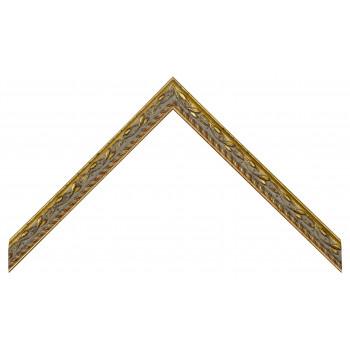 Деревянный багет Золото 267.41.043