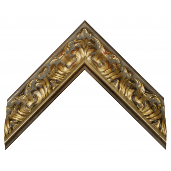 Деревянный багет Золото 274.64.073