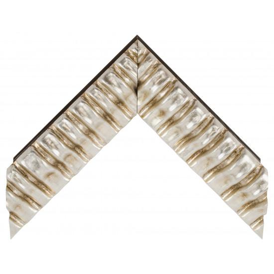 Деревянный багет Серебро 338.64.044 в интернет-магазине ROSESTAR фото