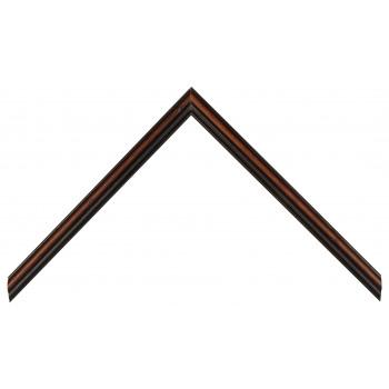 Деревянный багет Темно-коричневый 358.23.065