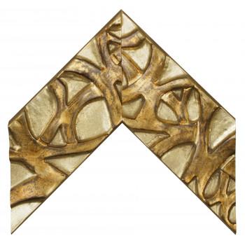 Деревянный багет Золото 391.44.043