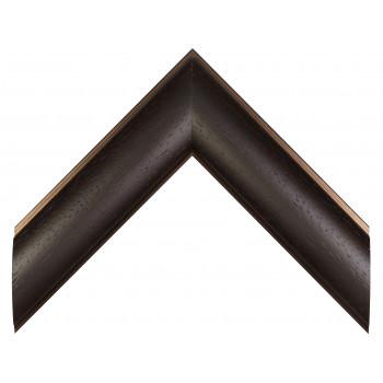 Пластиковый багет Темно-коричневый 549-433