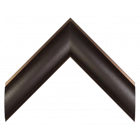 Пластиковый багет Темно-коричневый 549-433 в интернет-магазине ROSESTAR фото
