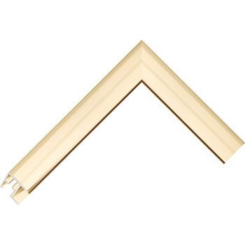 Алюминиевый багет золото блестящий 68-13