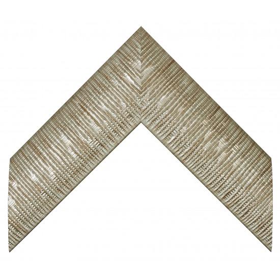 Пластиковый багет Серебро 811M-906 в интернет-магазине ROSESTAR фото