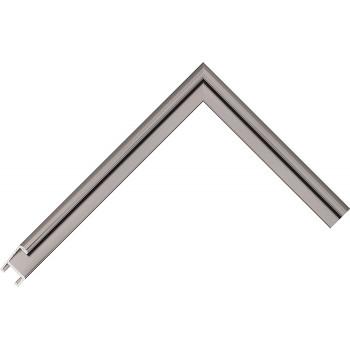 Алюминиевый багет оружейный металл 84-20