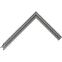 Алюминиевый багет серый 85-123