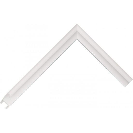 Алюминиевый багет белый 85-31 в интернет-магазине ROSESTAR фото