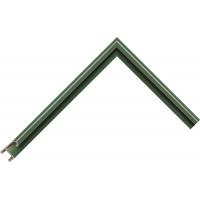 Алюминиевый багет зеленый 85-36