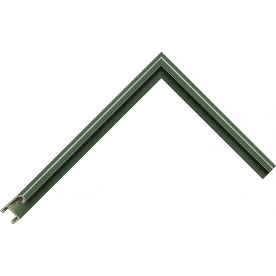 Алюминиевый багет зеленый 85-36 в интернет-магазине ROSESTAR фото