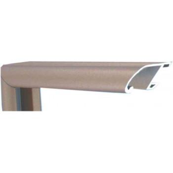 Алюминиевый багет золотой металлик 89-301