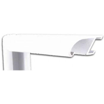Алюминиевый багет белый 89-311