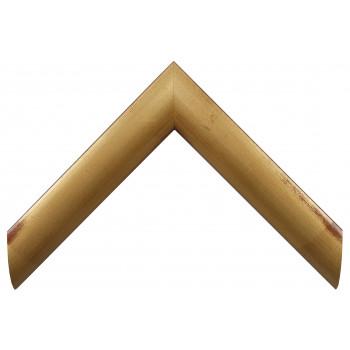 Деревянный багет Золото А-В100821