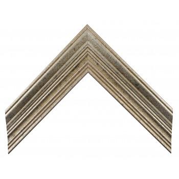 Деревянный багет Серебро А-В110455