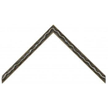 Деревянный багет Серый 064.34.075