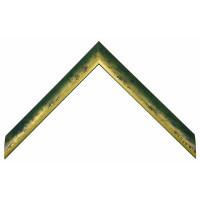 Деревянный багет Зеленый 105.23.022