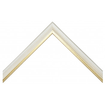 Деревянный багет Белый 13723051