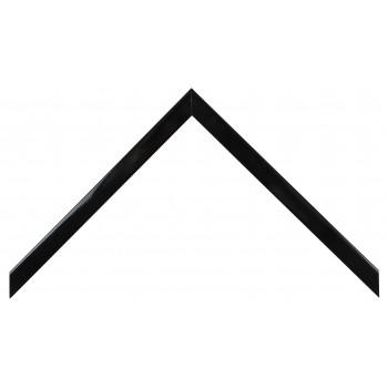 Деревянный багет Чёрный глянцевый 148.31.045