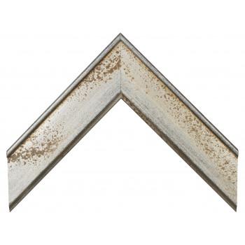 Деревянный багет Серебро 15453044