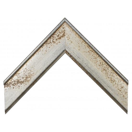 Деревянный багет Серебро 15453044 в интернет-магазине ROSESTAR фото