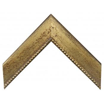 Деревянный багет Золото 15763043