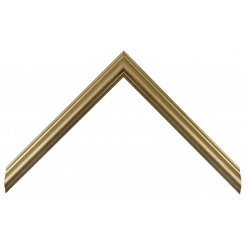 Деревянный багет Золото 160.21.043