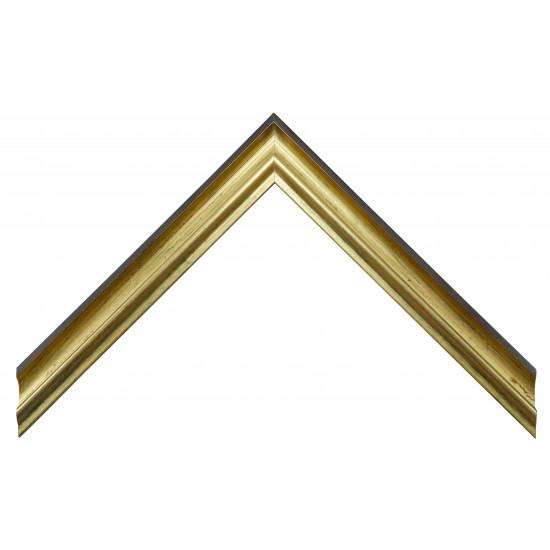 Деревянный багет Золото 176.54.243 в интернет-магазине ROSESTAR фото