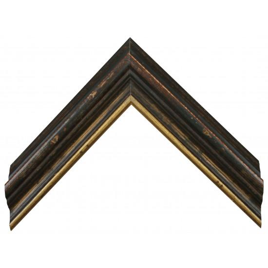 Деревянный багет Зеленый 18563430 в интернет-магазине ROSESTAR фото