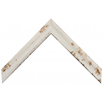 Деревянный багет Белый 209.33.058