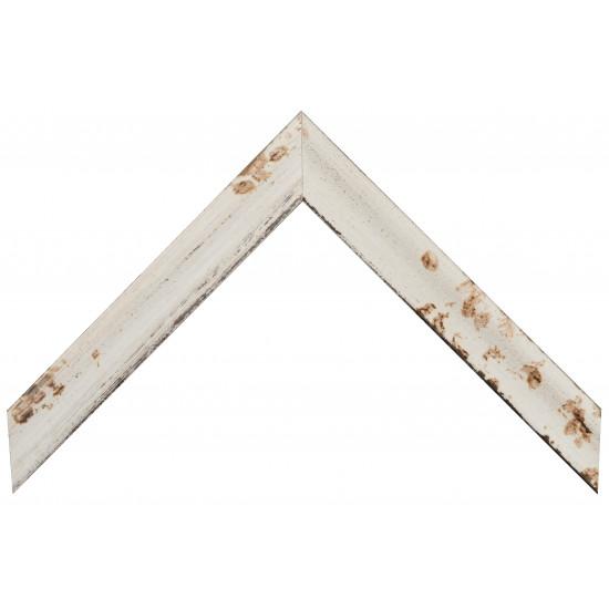 Деревянный багет Белый 209.33.058 в интернет-магазине ROSESTAR фото
