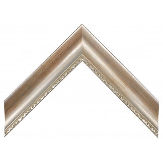 Деревянный багет Серебро 213.44.029 в интернет-магазине ROSESTAR фото