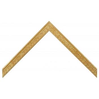 Деревянный багет Золото 26223055