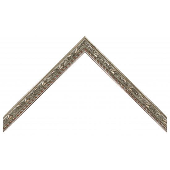 Деревянный багет Серебро 267.41.044 в интернет-магазине ROSESTAR фото